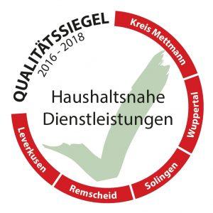 Qualitätssiegel der Stadt Wuppertal